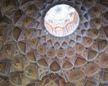 the Oculus inside hasht behesht (eight paradise) palace in Esfahan, Teheran.