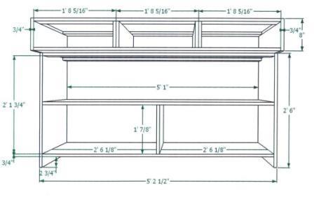 work bench plan
