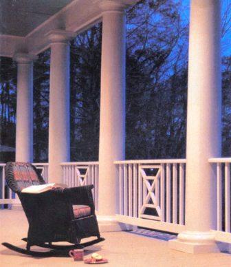 column & railing