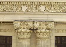 twin porch columns