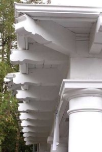 Arts and crafts style for Decorative rafter tails