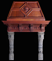 MAntel and surround by www.architecturalantiques.com