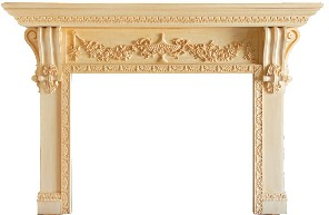 MAntel and surround by homeimprovementblog.net
