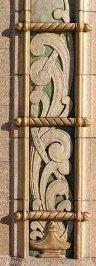 Stylized motifBuffalo Industrial Bank - copyright Chuck LaChiusa - author Buffalo Architecture and History