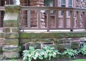 arts and crafts stonework