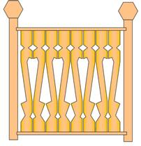 porch panel balluster